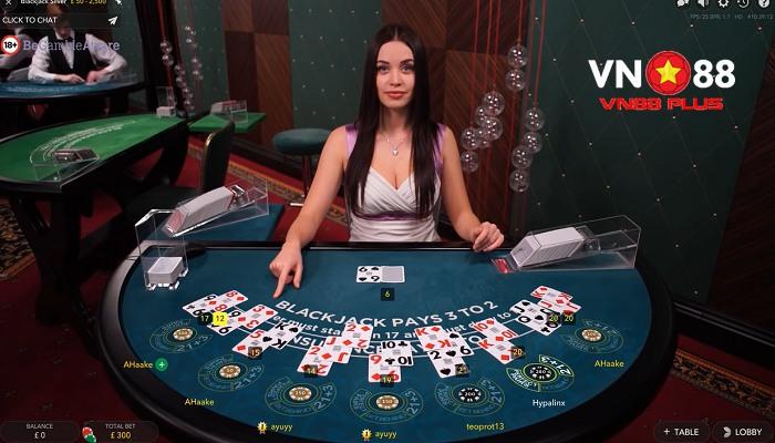 mẹo chơi blackjack