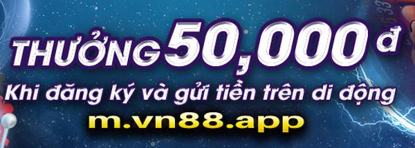 khuyến mãi vn88 app